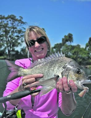 Wapengo Lake produces exceptional bream most of the season.