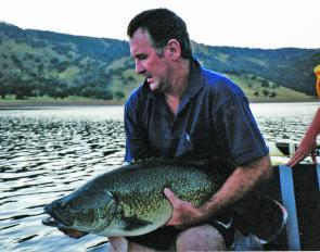 burrinjuck how to catch cod