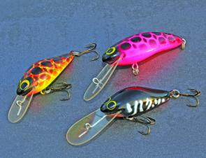 Wayne's son Matthew had a go at lure designing a few years back and briefly released these Bad Buoy lures. They are hot collector's items now.