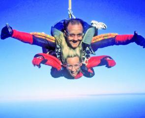 Coffs attractions: skydiving