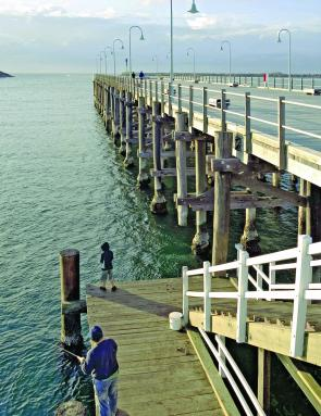 Coffs Harbour jetty fishing.