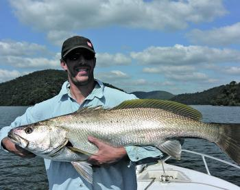 March has been good with some impressive mulloway over the metre mark in years gone by. Live baiting around the tide change is the key to successfully catch fish like this.