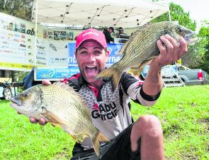 Drawing first blood to claim victory in the event was Sydney Harbour bream gun Ross Cannizzaro, who used his extensive knowledge to dominant the talented tournament field. Image courtesy of lureandfly.com