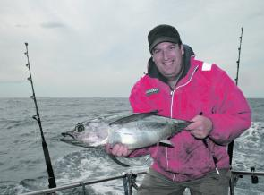 Albacore are the staple game fishing target for Tasmanian game fishers, but the good chance of a bluefin is always there.
