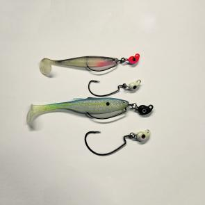 Rigged and un-rigged weedless plastics doing the damage