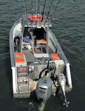 The layout of the Amara 6.55 is well thought through and the Honda 150hp Four-Stroke provides the power needed.