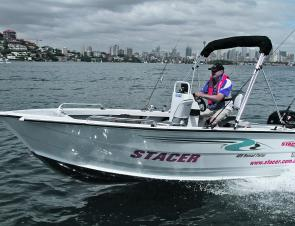 Stacer's 489 Nomad Fisher is a versatile, stable boat that suits almost every Australian fishing scenario.