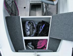 Every centre console fishing boat should have this much storage!