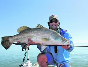With the barra season in full swing, solid fish such as these will be targeted by keen anglers.