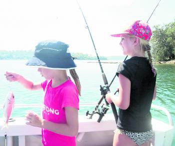 Lilly attended a NSW Fisheries fishing clinic and wanted to put her skills to the test on All at Sea Charters with a few friends.