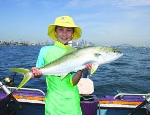 Harbour kings often have been fixated on garfish but still respond to fresh or live squid.
