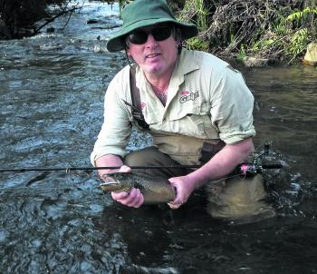 Bigger trout are harder to catch, but by slowing your approach down a few notches you can fool these wily animals!