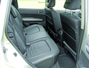 Leather seating and trim is part and parcel of the TL package.