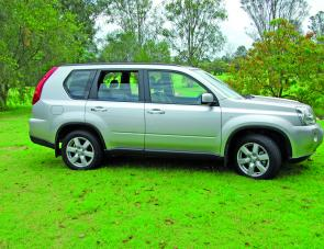 This X-Trail features clean lines, a good degree of ground clearance and all wheel drive capability.