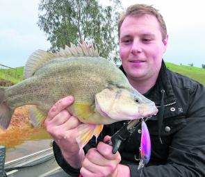 Autumn is a brilliant time to fish Lake Eildon for top targets like this golden perch.