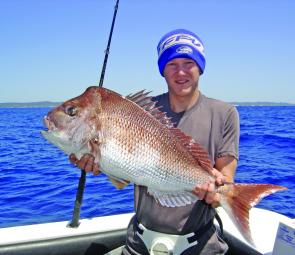 September is big snapper time still and the rewards are there for those who get out there.