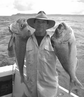 Another happy bloke with good summer snapper.