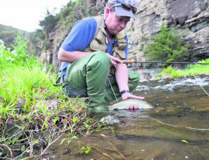Some great flyfishing can be hand in the small Otway streams on the Surf Coast