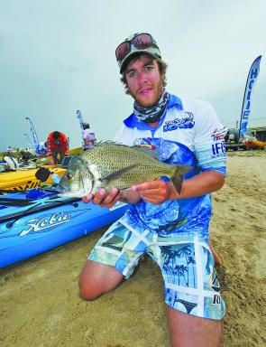 Kayak debutant Justin Dingwall secured the win over a talented field of anglers.