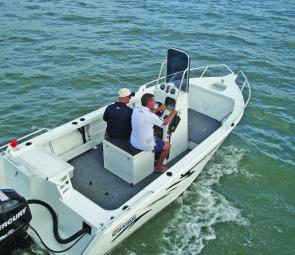 All up the Horizon Pacific 515 centre console is a no nonsense fishing rig that is ready to be loaded with gear and hit the water straight out of the show room.