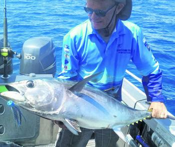 Offshore, the southern bluefin tuna have been readily taking lures, along with albacore and other popular pelagics.