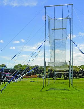 A flying Trapeze and circus school is part of the attraction at Ballina Beach Village.