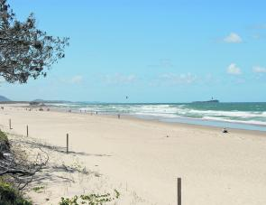 Maroochydore beach offers something for everyone with the angler having all the fun at daylight and dusk.
