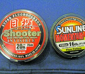 To try out these great new products - look for these distinctive spools at your tackle store.