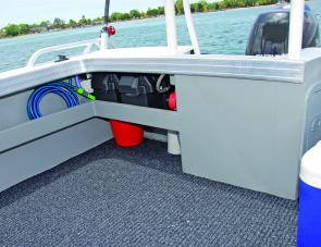 A deck wash is a handy addition to the list of any fishing boat's equipment.