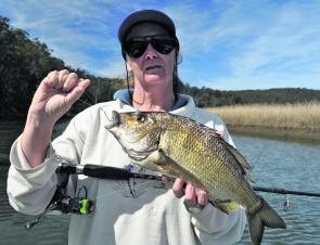 Bream of this quality can be found in the Bega River even into the freshwater reaches.