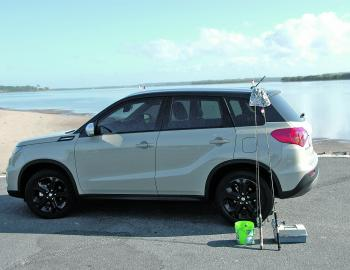 The author took this car fishing and caught a feed of bream off the Jacobs Well Boat Ramp.