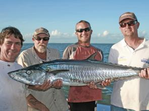 Dean Grieve and his team on Spanish Dancer landed this tasty mackerel while fishing for billfish.