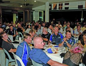 The presentation dinner was a highlight of the tournament. Everyone had a great time and were very well looked after by the crew at Port Hinchinbrook.