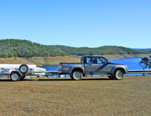 BT50 owners will be happy with the tow capacity of their Ute.
