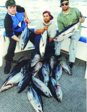 Plenty of anglers have been having heaps of fun on schooling albacore.