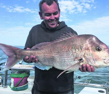 Shaun Furtiere has a good idea of what rigs work best for snapper, as it's his job to put people onto fish.