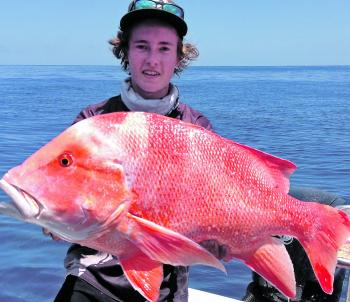 Connor Duffy from Frogleys Offshore scored this top red wide of Yeppoon.