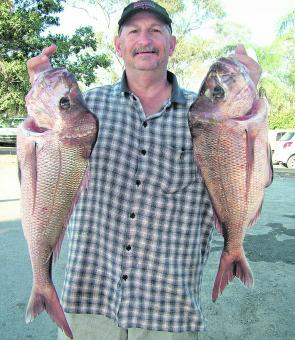 Snapper will still be about in good numbers this month, so don't head offshore without giving them a crack.