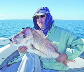 Steven Waite took out the snapper category with this impressive 5.44kg snapper.