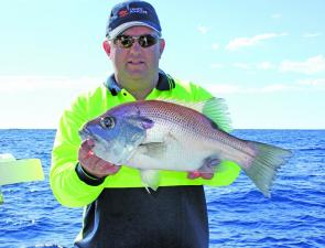 Brad caught this pearl perch at Wide Caloundra.