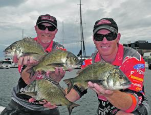 Brad and Mike Hodges of Team Berkley took out the season opening event of the 2012 Vic Bream Classic Series held in Melbourne.