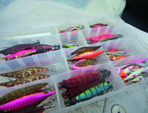A good selection of jigs can let you match the hatch should you need to.