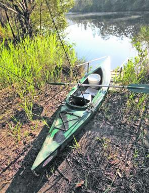 Dust off the kayak and get out and start exploring. Spring is a great time to look for new bass and bream water.
