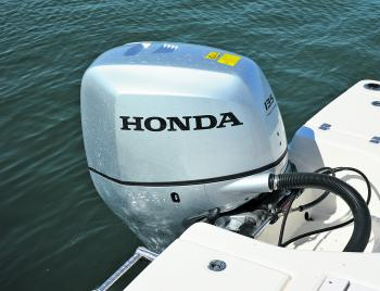 Although the Cayman 206 is rated to 200HP, the 135 Honda fitted to it by Aussie Boat Sales delivers 5-6 second hole shot and a top speed of 61km/h. Naturally, it becomes a weapon with the 200HP outboard, which is the maximum for this hull.
