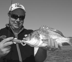 Bream like this are regular catches in shallow water as it begins to warm.