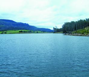 Huntsman Lake is up and ready to be fished