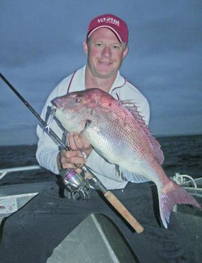 Early morning fishing before the sun rises is very effective, especially when snapper are about.