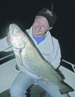 "The mighty Mulloway, as elusive as they are, fishing during the night is the ""prime time""."