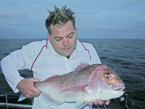 "Mick ""the butcher"" Thurley loves fishing in the dark and early morning, less boat traffic means more fish."