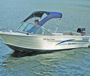 Pictures of this Bay Cruiser were supplied by Middle Harbour Marine.